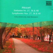 Barry Wordsworth: Mozart: Symphonies Nos. 27, 36 and 40 - CD