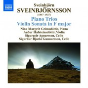 Nina-Margret Grimsdottir: Sveinbjornsson: Piano Trios / Violin Sonata - CD