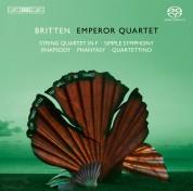 Emperor Quartet, John Metcalfe II: Britten: String Quartets, Vol.3 - SACD