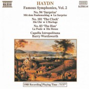 Haydn: Symphonies, Vol.  2 (Nos. 83, 94, 101) - CD