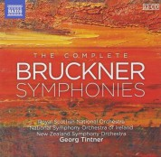 Georg Tintner, Royal Scottish National Orchestra, New Zealand Symphony Orchestra, Ireland National Symphony Orchestra: Bruckner: The Complete Symphonies - CD