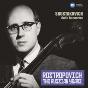 Mstislav Rostropovich: Shostakovich: Cello Concertos Nos 1 & 2 (The Russian Years) - CD