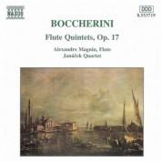 Boccherini: Flute Quintets, Op. 17 - CD
