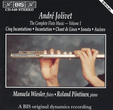 Manuela Wiesler, Roland Pöntinen: Jolivet - Flavta Music, Vol.1 - CD