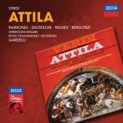 Ambrosian Singers, Carlo Bergonzi, Cristina Deutekom, Lamberto Gardelli, Royal Philharmonic Orchestra, Ruggero Raimondi, Sherrill Milnes: Verdi: Attila - CD