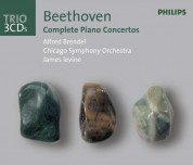 Alfred Brendel, Bernard Haitink, Chicago Symphony Orchestra, James Levine, London Philharmonic Orchestra: Beethoven: Piano Concertos 1-5 - CD
