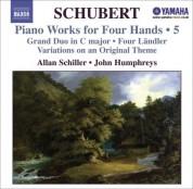 John Humphreys, Allan Schiller: Schubert: Piano Works for Four Hands, Vol. 5 - CD
