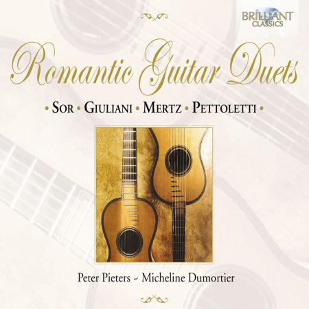 Peter Pieters, Micheline Dumortier: Romantic Guitar Duets - CD