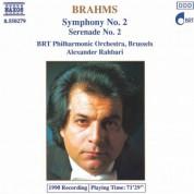 Brahms: Symphony No. 2 / Serenade No. 2 - CD