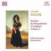 Soler, A.: Sonatas for Harpsichord, Vol.  3 - CD