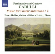 Franz Halasz: Carulli, F.: Guitar and Piano Music, Vol. 2 - CD