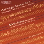 Miklós Spányi, Concerto Armonico, Péter Szűts: C.P.E. Bach: Keyboard Concertos, Vol. 8 - CD