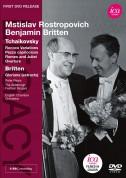 Peter Pears, Mstislav Rostropovich, English Chamber Orchestra, Benjamin Britten: Tchaikovsky, Britten: Variations On A Rococo Theme - DVD