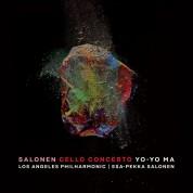 Yo-Yo Ma: Salonen: Cello Concerto - Plak