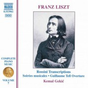 Liszt: Rossini Transcriptions - CD