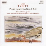 Tveitt: Piano Concertos Nos. 1 and 5 - CD