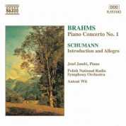 Jenö Jandó: Brahms: Piano Concerto No. 1 / Schumann: Introduction and Concerto-Allegro - CD