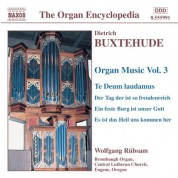 Wolfgang Rubsam: Buxtehude: Organ Music, Vol. 3 - CD