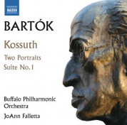 Buffalo Philharmonic Orchestra, JoAnn Falletta, Michael Ludwig: Bartók: Kossuth, 2 Portraits & Orchestral Suite No. 1 - CD