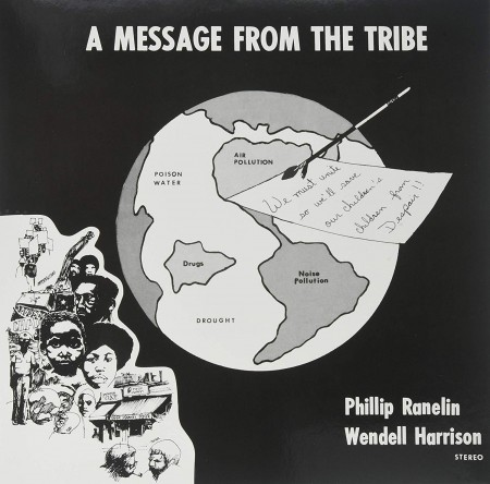 Wendell Harrison, Phillip Ranelin: A Message From The Tribe - Plak
