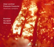 Anja Lechner, François Couturier: Moderato Cantabile - CD