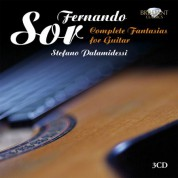 Stefano Palamidessi: Sor: Complete Fantasias for Guitar - CD