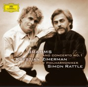Berliner Philharmoniker, Krystian Zimerman, Sir Simon Rattle: Brahms: 1. Piano Concerto - CD