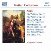 Margarita Escarpa: Sor: 6 Waltzes, Opp. 17 and 18 / 6 Airs, Op. 19 - CD