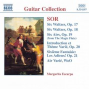 Margarita Escarpa: Sor: 6 Waltzes, Opp. 17 and 18 / 6 Airs, Op. 19 - CD
