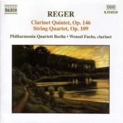 Reger: Clarinet Quintet, Op. 146 / String Quartet, Op. 109 - CD