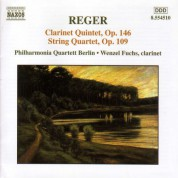 Reger: Clarinet Quintet, Op. 146 / String Quartet, Op. 109 - CD
