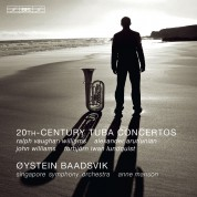 Øystein Baadsvik, Singapore Symphony Orchestra, Anne Manson: 20th Century Tuba Concertos - CD