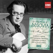 Andrés Segovia: The Master Guitarist - CD