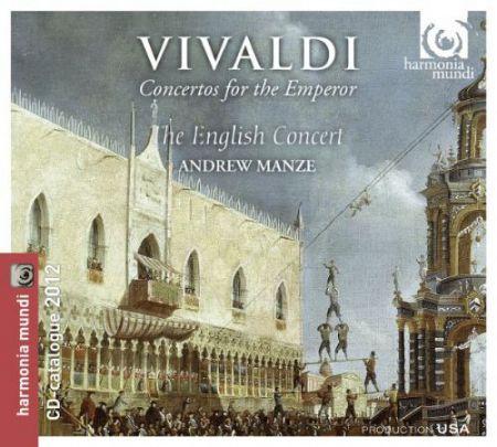 The English Concert, Andrew Manze: Vivaldi: Concertos for the Emporer - CD