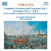 Veracini: Overtures and Concertos,  Vol.  1 - CD