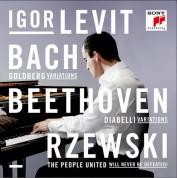 Igor Levit: Bach, Beethoven, Rzewski - CD