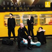 Artemis Quartet: Ligeti: String Quartets 1 & 2 - CD