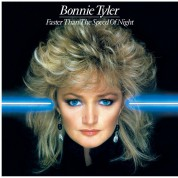 Bonnie Tyler: Faster Than The Speed Of Night (Limited Numbered Edition - Translucent Blue Vinyl) - Plak