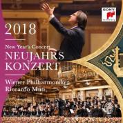 Riccardo Muti, Wiener Philharmoniker: New Year's Concert 2018 - Plak
