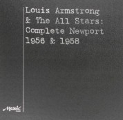 Louis Armstrong & The All Stars - Newport 1956 &1958 - Plak