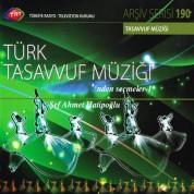Çeşitli Sanatçılar: TRT Arşiv Serisi 190 - Türk Tasavvuf Müziği'nden Seçmeler 1 - CD