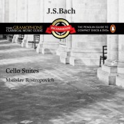 Mstislav Rostropovich: Bach: Cello Suites - CD
