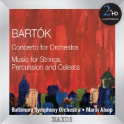 Marin Alsop: Bartók: Concerto for Orchestra - Music for Strings, Percussion & Celesta - CD