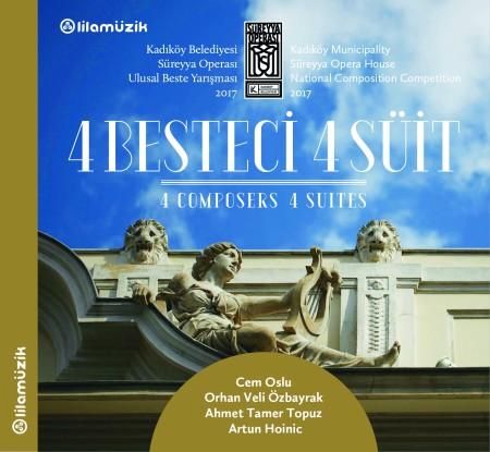Gürer Aykal, İstanbul Sinfonietta: 4 Besteci 4 Süit - CD