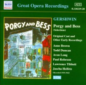 Gershwin: Porgy and Bess (Original Cast Recordings) (1935-1942) - CD