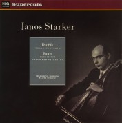 János Starker: Dvorak / Faure: Cello Concerto / Elegie for Cello and Orchestra - Plak