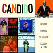 Candido: Latin Fire + in Indigo + the Volcanic + F/Al Cohn - CD
