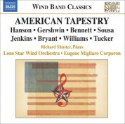 Lone Star Wind Orchestra: Bennett, R.R.: Suite of Old American Dances / Gershwin, G.: Rhapsody in Blue (American Tapestry) - CD