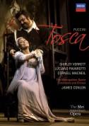 James Conlon, Cornell MacNeil, Metropolitan Opera Orchestra, Luciano Pavarotti, Shirley Verrett: Puccini: Tosca - DVD