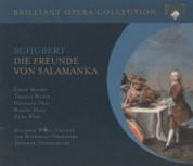 Edith Mathis, Thomas Moser, Hermann Prey, Robert Holl, Austrian Radio Symphony Orchestra, Theodor Guschlbauer: Schubert: Die Freunde von Salamanka - CD